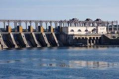 Agua, energía eléctrica Fotos de archivo libres de regalías