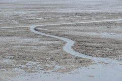 Agua fangosa Fotografía de archivo