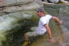 Agua fría Imagenes de archivo