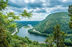 Agua Gap de Delaware Foto de archivo libre de regalías