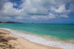 Agua hawaiana imágenes de archivo libres de regalías