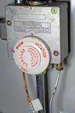 Agua Heater Control Fotos de archivo