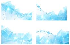 Agua helada Imágenes de archivo libres de regalías
