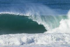 Agua hueco de la onda Foto de archivo