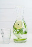 Agua infundida Imagen de archivo libre de regalías
