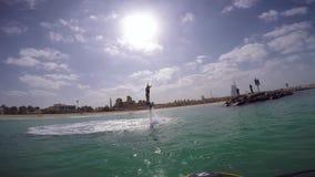 Agua Jet Pack de Flyboard en Dubai metrajes