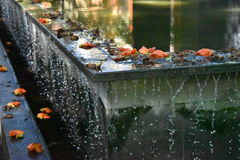 Agua lenta Fotos de archivo libres de regalías