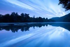 Agua lisa Foto de archivo libre de regalías