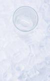 Agua llana helada II Fotografía de archivo libre de regalías