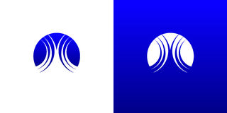 Agua Logo Symbol Template de la onda Imagen de archivo libre de regalías