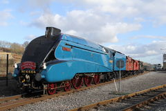 Agua madre de salmuera del tren del vapor A4 Foto de archivo libre de regalías