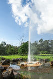 Agua mineral de las aguas termales Fotos de archivo libres de regalías