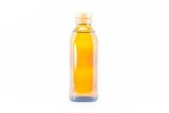 Agua mineral del vidrio bottle Imagen de archivo libre de regalías