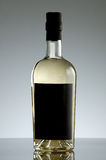 Agua mineral del vidrio bottle Foto de archivo