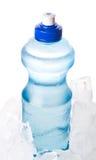 Agua mineral e hielo II Imágenes de archivo libres de regalías
