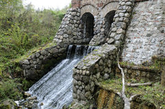Agua-molino imagenes de archivo