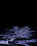 Agua oscura Fotos de archivo libres de regalías