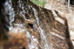 Agua parada a tiempo foto de archivo