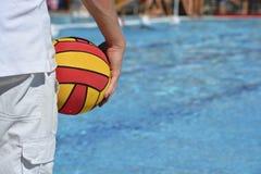 Agua Polo Referee Fotografía de archivo libre de regalías