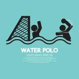 Agua Polo Sport Sign Fotos de archivo libres de regalías