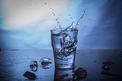 Agua potable Fotos de archivo