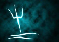 Agua Pourer de la muestra del zodiaco ilustración del vector