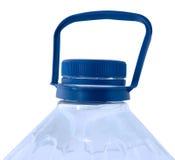 Agua pura en botella. Imagenes de archivo