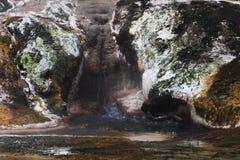 Agua que corre abajo de la terraza de Warbrick Fotos de archivo libres de regalías