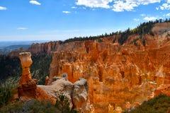 Agua-Schlucht bei Bryce Canyon National Park lizenzfreies stockbild