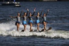 Agua Ski Tournament en Ontario, Canadá del mundo el 8 de septiembre de 2018 fotografía de archivo