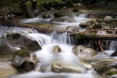 Agua suave Foto de archivo libre de regalías