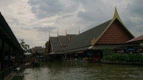 agua tailandesa del edificio imagen de archivo