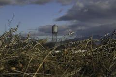 Agua-torre Imagenes de archivo