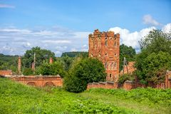 Agua-torre vieja de Th? Foto de archivo