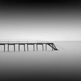 Agua tranquila Imagenes de archivo