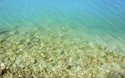 Agua transparente como fondo abstracto fotos de archivo libres de regalías
