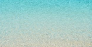Agua tropical fotos de archivo libres de regalías