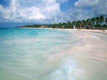 Agua tropical de la playa Fotos de archivo libres de regalías