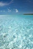 Agua tropical perfecta Foto de archivo libre de regalías