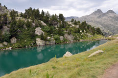 Agua verde fotografía de archivo