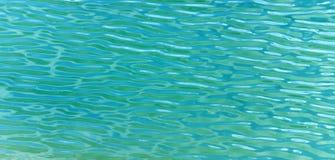 agua verde Fotos de archivo