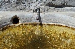 Agua vivificante Fotografía de archivo