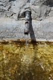 Agua vivificante Imágenes de archivo libres de regalías