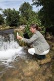 Agua y ambiente Imagen de archivo libre de regalías