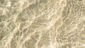 Agua y arena del océano Imágenes de archivo libres de regalías