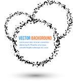 Agua y círculo abstractos del vector. libre illustration