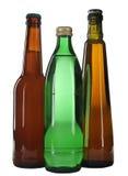 Agua y cerveza foto de archivo libre de regalías