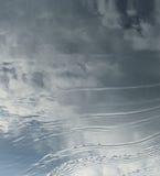 Agua y cielo Foto de archivo