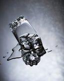 Agua y hielo Imagenes de archivo