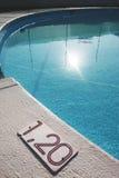Agua y paraguas Imagen de archivo